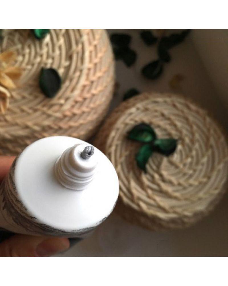 3W CLINIC, Пенка для умывания натуральная УГОЛЬ, Charcoal Cleansing Foam, 100 мл.