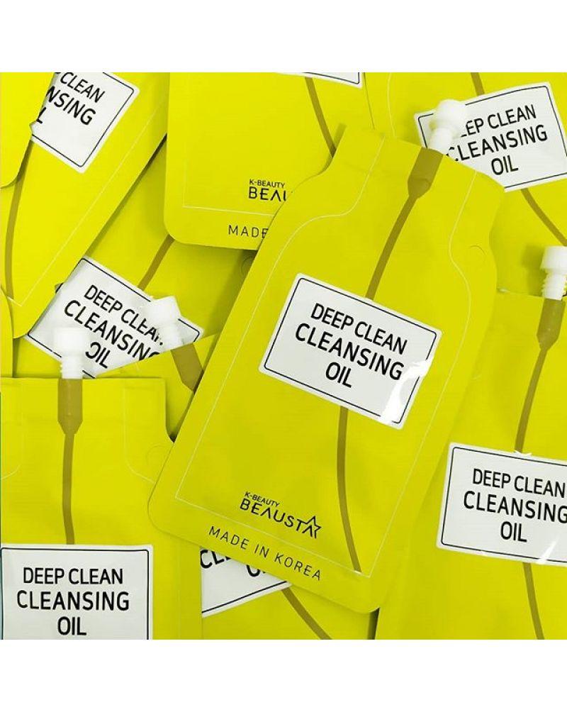 BEAUSTA, Гидрофильное масло, для глубокого очищения кожи, Deep Сlean Сleansing Oil, 15мл.