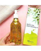 Elizavecca, Гидрофильное масло, с маслом ОЛИВЫ, Natural 90% Olive, Cleansing Oil, 300 мл