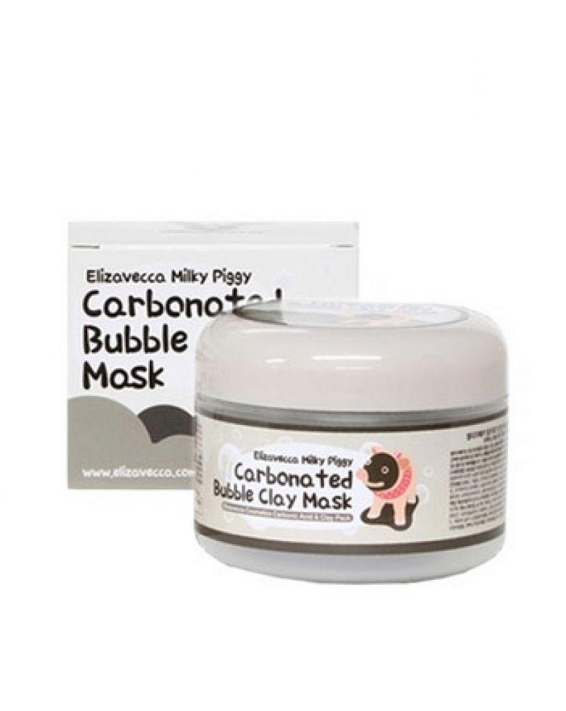 Elizavecca, Маска для лица, очищающая, ПУЗЫРЬКОВАЯ, с глиной, Сarbonate Bubble Clay Mask, 100 мл