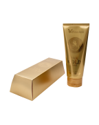 Elizavecca, Пенка для умывания, МУЦИН УЛИТКИ И ЗОЛОТО, 24K Gold Snail Cleansing Foam, 180 мл