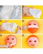 Elizavecca, Тканевая маска, для лица, с Витаминами, VITA DEEP POWER, Ringer mask pack