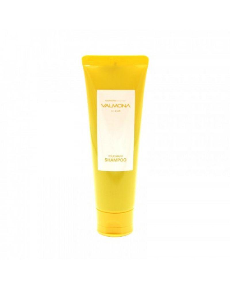 VALMONA, Шампунь для волос, ПИТАНИЕ, Nourishing Solution, Yolk-Mayo Shampoo, 100 мл