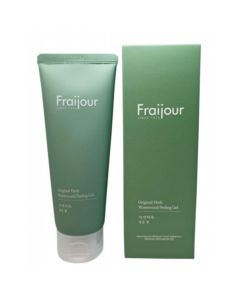 Fraijour, Гель-пилинг, для лица, РАСТИТЕЛЬНЫЕ ЭКСТРАКТЫ, Original Herb, Wormwood, Peeling Gel, 150 мл
