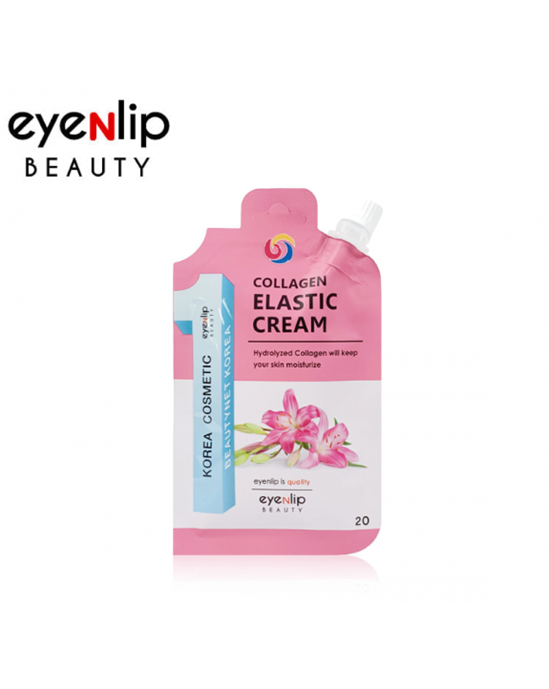 Eyenlip, Коллагеновый, крем для лица, Collagen Elastic Cream, 20гр
