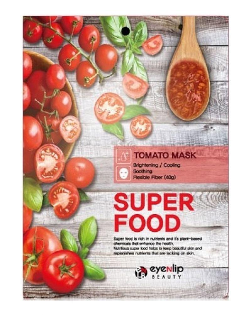 EYENLIP, Маска для лица тканевая, SUPER FOOD TOMATO MASK,  23 мл.