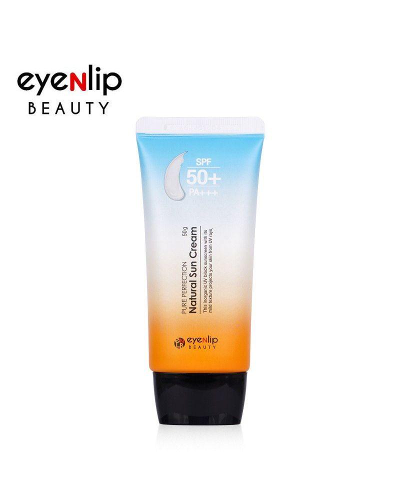 EYENLIP, Крем для лица солнцезащитный, PURE PERFECTION NATURAL SUN CREAM, 50 гр.