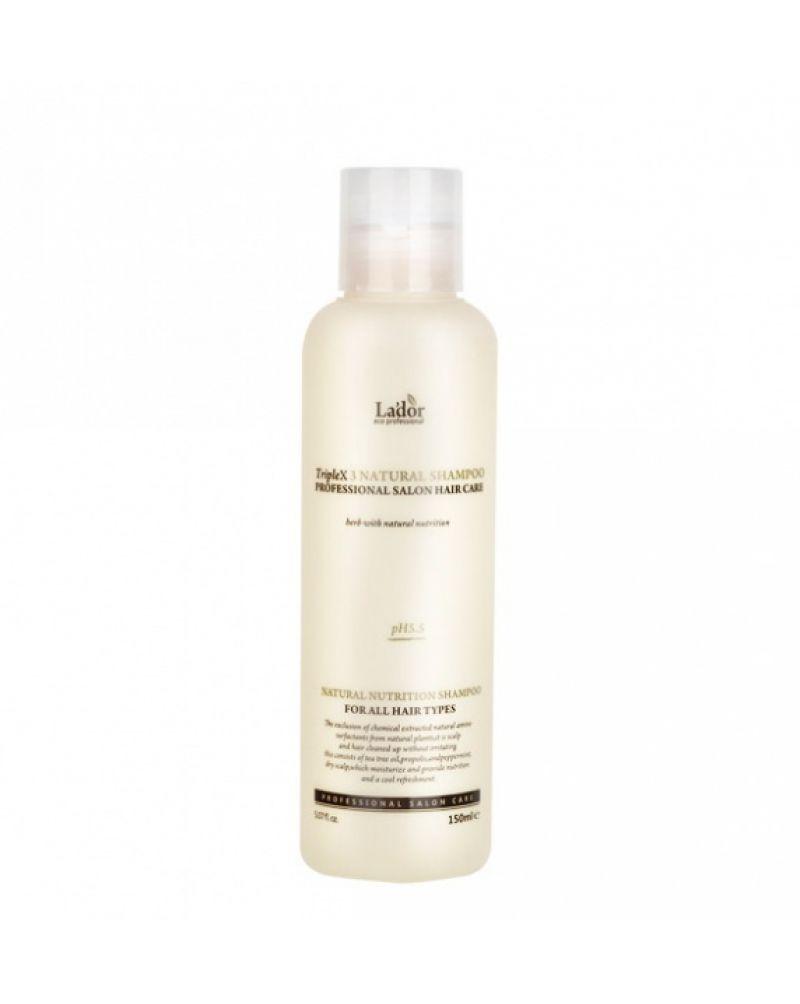 LA'DOR, Органический шампунь, для волос, TRIPLEX, NATURAL SHAMPOO, 150мл