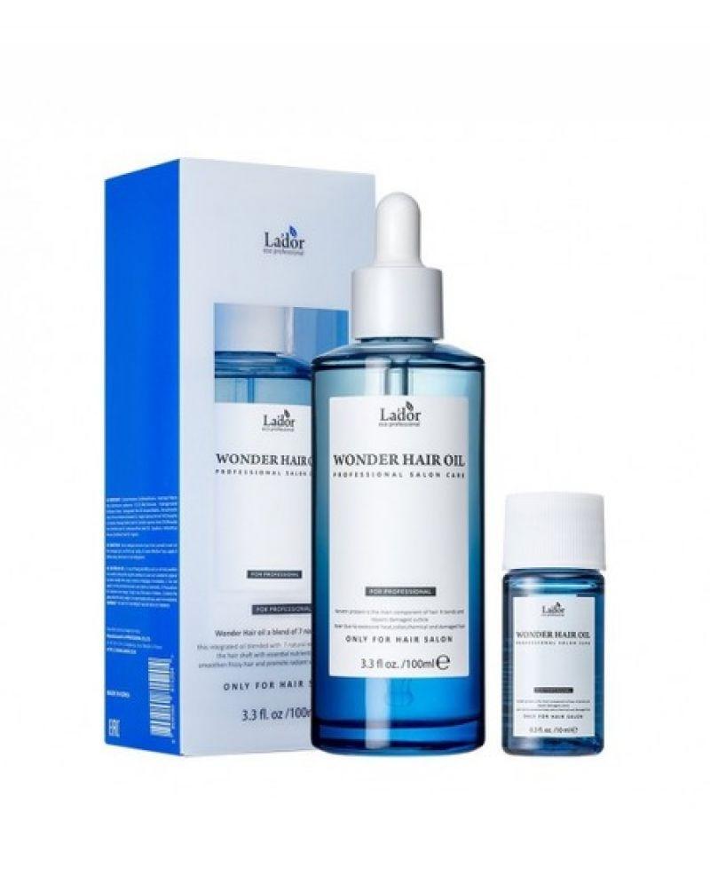 La'dor, Масло для волос увлажняющее, Wonder Hair Oil, 100 мл.