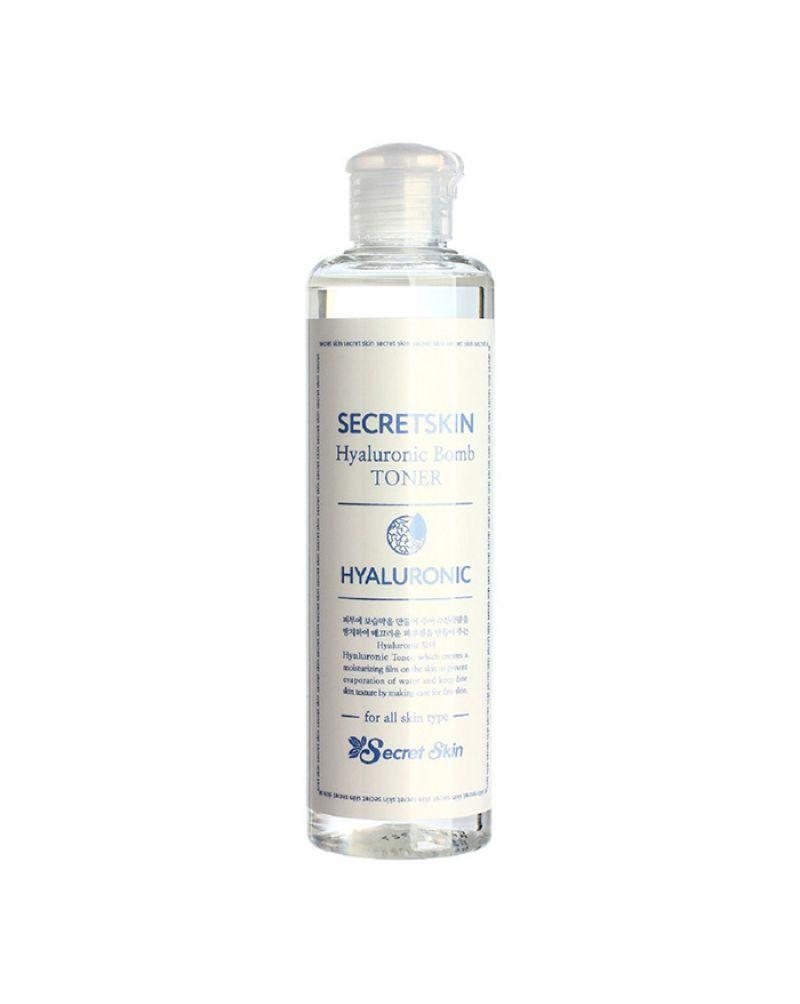 Secret Skin, Тонер для лица, с гиалуроновой кислотой, Hyaluronic Bomb Toner, 250 мл