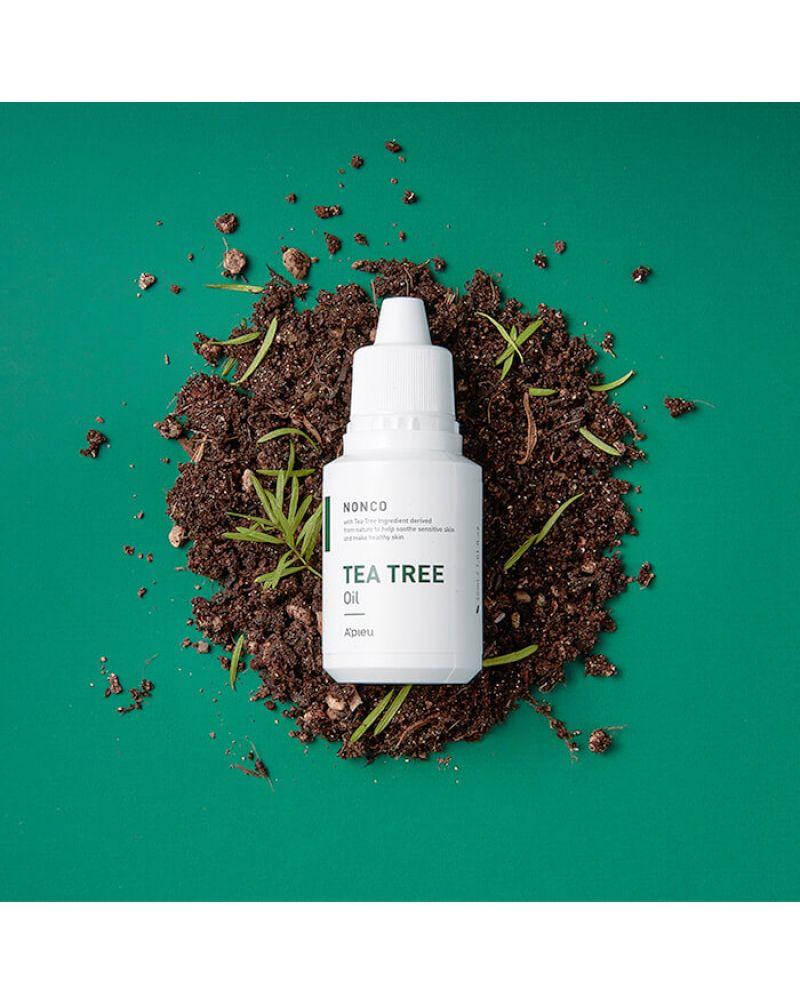 A'Pieu, Успокаивающая масляная сыворотка, для кожи лица, с экстрактом чайного дерева, Nonco Tea Tree Oil, 30 мл