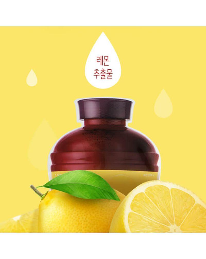 A'PIEU, Выравнивающая тканевая маска для лица, Fruit Vinegar Sheet Mask (Softening&Brightening), 20гр