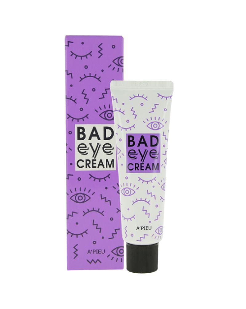 A'PIEU, Крем для кожи вокруг глаз, с экстрактом чёртова когтя, Bad Eye Cream