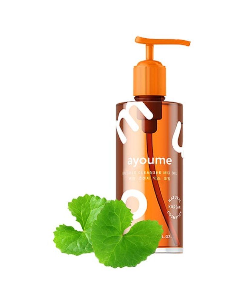 AYOUME, Гидрофильное масло-пенка, для снятия макияжа лица, Bubble Cleansing Oil, 150 мл