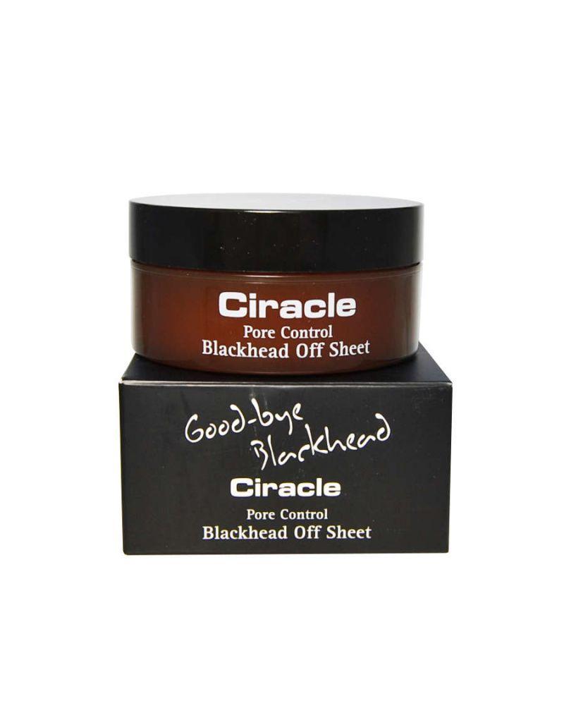 Ciracle, Салфетки для удаления черных точек, PORE CONTROL, Blackhead Off Sheet, 30шт