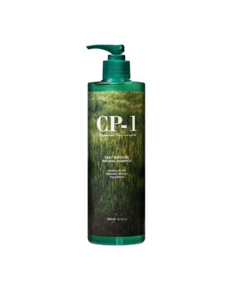 ESTHETIC HOUSE, Натуральный увлажняющий шампунь, для волос, CP-1, Daily Moisture Natural Shampoo, 500 мл