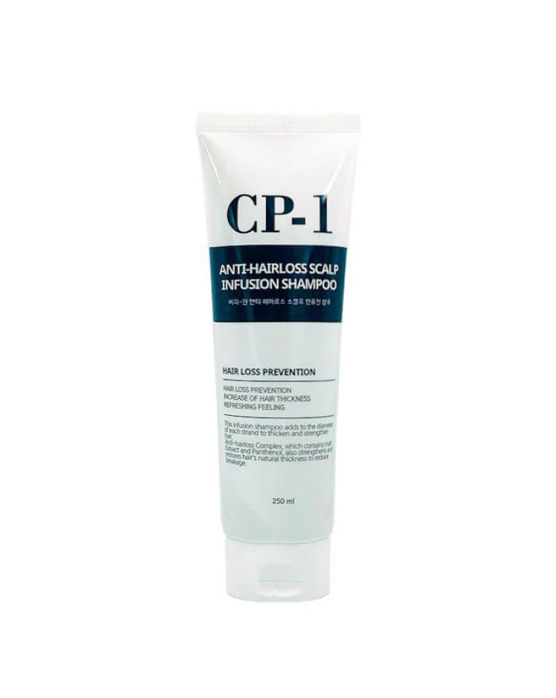 ESTHETIC HOUSE, Шампунь против выпадения волос, CP-1, Anti-hair loss scalp infusion shampoo, 250ml