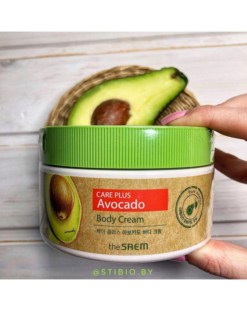 the SAEM, Крем для тела, Care Plus Avocado Body Cream, 300мл